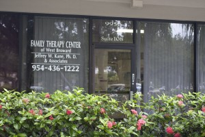 front door of The Family Therapy Center Of West Broward office in Pembroke Pines